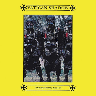 Vatican Shadow PAKISTAN MILITARY ACADEMY Vinyl Record