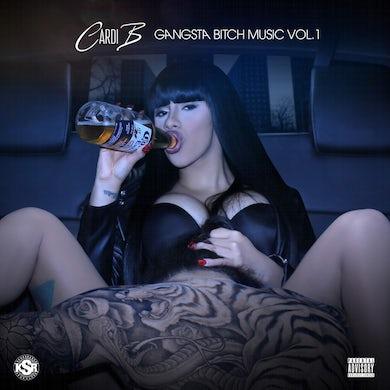 Cardi B GANGSTA BITCH MUSIC VOL. 1 Vinyl Record