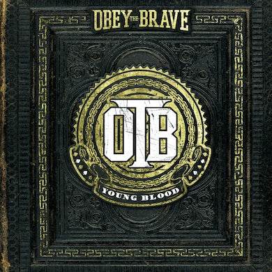 Obey The Brave YOUNG BLOOD (TRANS YELLOW) Vinyl Record