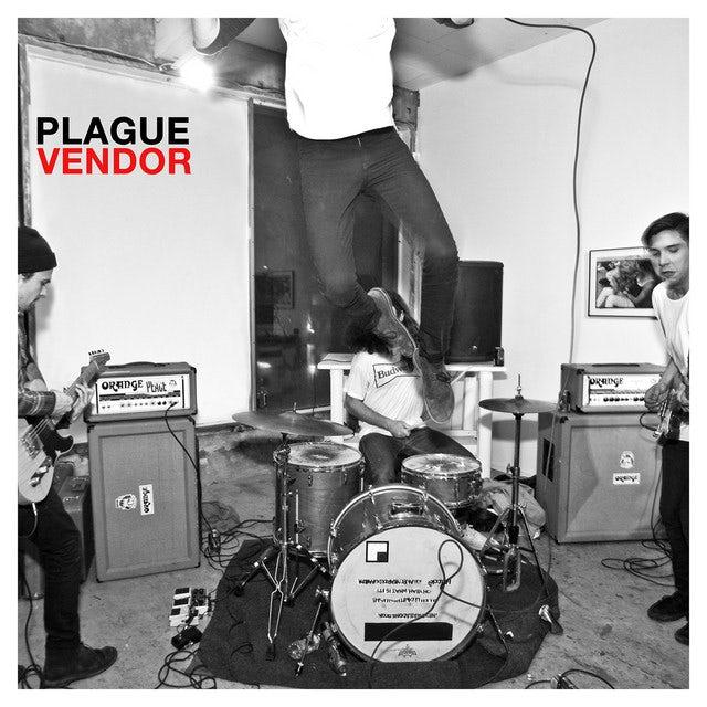 Plague Vendor FREE TO EAT (CLEAR RED VINYL) Vinyl Record