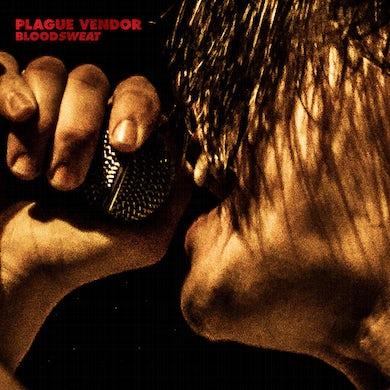 Plague Vendor BLOODSWEAT (TRANS RED) Vinyl Record