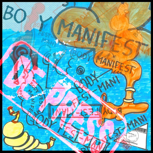 De Press BODY MANIFEST Vinyl Record