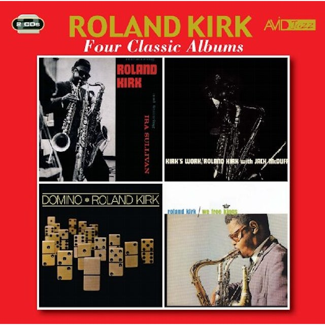 Roland Kirk INTRODUCING / KIRK'S WORK CD