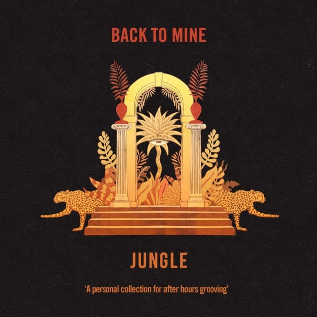 Jungle BACK TO MINE Vinyl Record