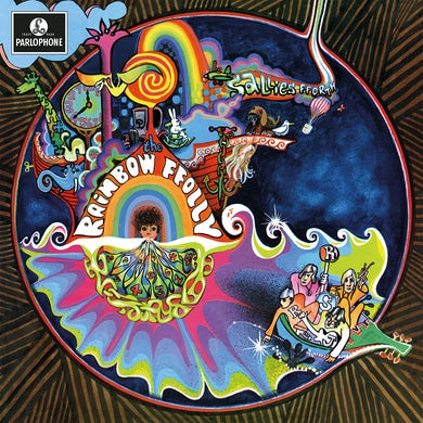 Rainbow Ffolly SALLIES FFORTH  (SPLATTER VINYL) Vinyl Record - Mono