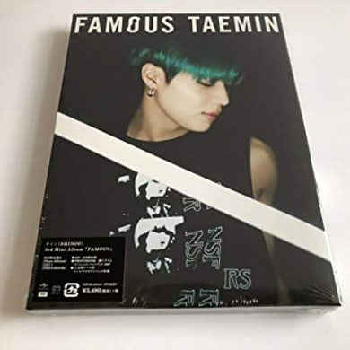 Taemin FAMOUS (VERSION A) CD