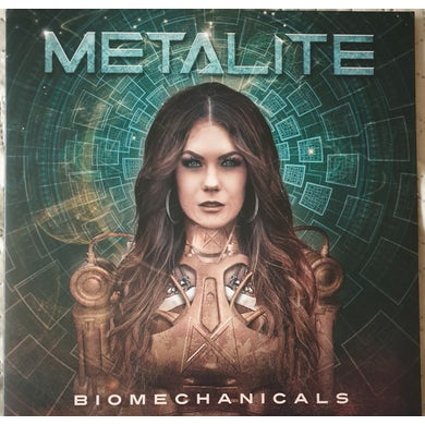 Metalite BIOMECHANICALS (GOLD VINYL) Vinyl Record