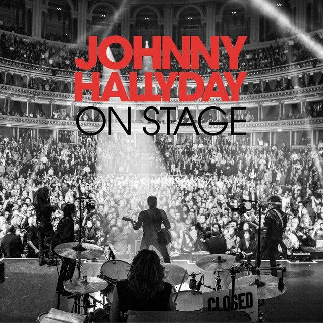 Johnny Hallyday ON STAGE Vinyl Record