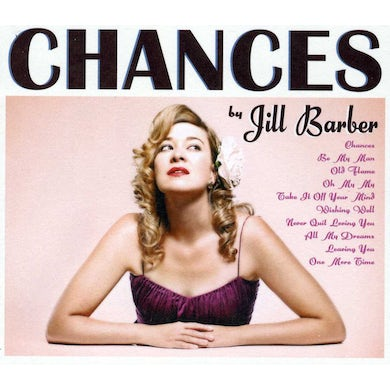 Jill Barber CHANCES CD