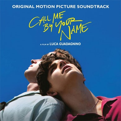 CALL ME BY YOUR NAME (RED VINYL) / Original Soundtrack Vinyl Record - Gatefold Sleeve