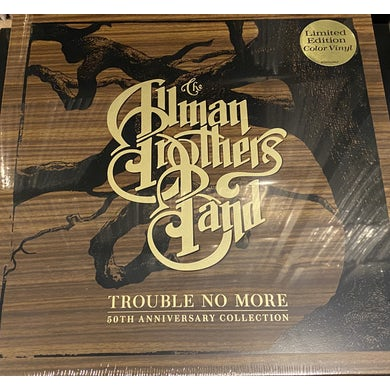 The Allman Brothers Band  TROUBLE NO MORE: 50TH ANNIVERSARY COLLECTION CD