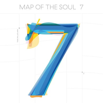 BTS MAP OF THE SOUL: 7 (4 DIFFERENT COVERS) CD
