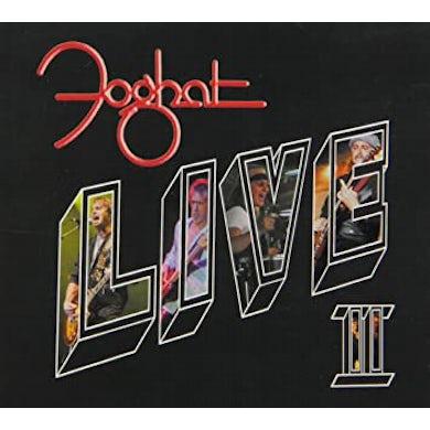 Foghat LIVE II CD