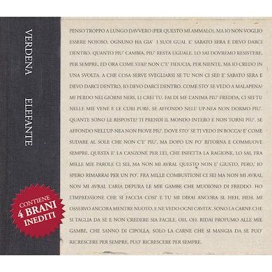 Verdena ELEFANTE Vinyl Record