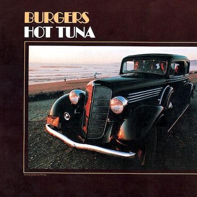 Hot Tuna BURGERS Vinyl Record