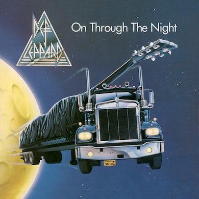 Def Leppard ON THROUGH THE NIGHT Vinyl Record