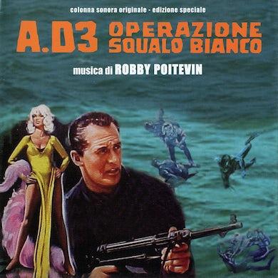 Robby Poitevin A.D.3 OPERAZIONE SQUALO / Original Soundtrack CD