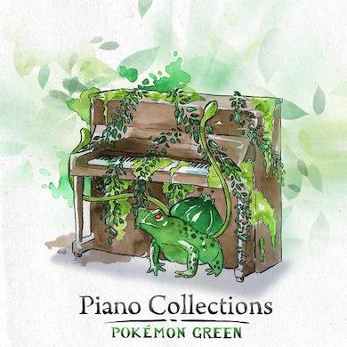 Trevor Alan Gomes PIANO COLLECTIONS: POKEMON GREEN CD