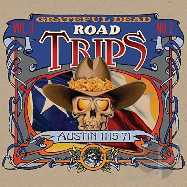 Grateful Dead ROAD TRIPS VOL. 3 NO. 2--AUSTIN 11-15-71 CD