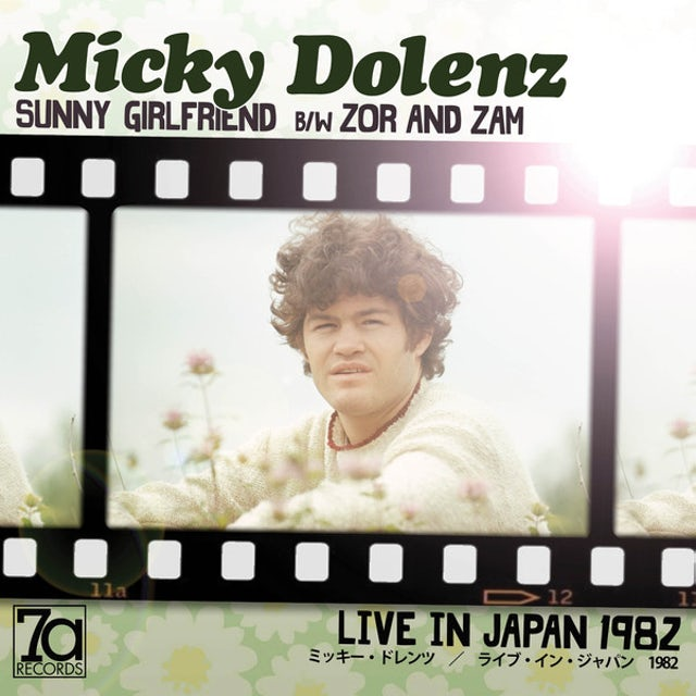 Micky Dolenz LIVE IN JAPAN Vinyl Record