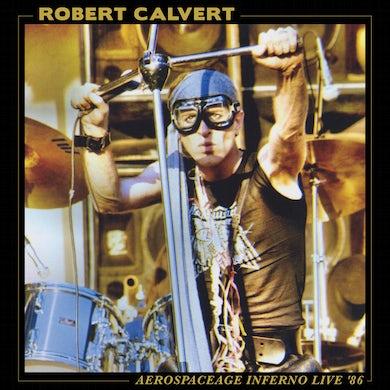 Robert Calvert AEROSPACEAGE INFERNO LIVE '86 Vinyl Record