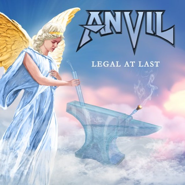 Anvil LEGAL AT LAST (GREEN VINYL) Vinyl Record
