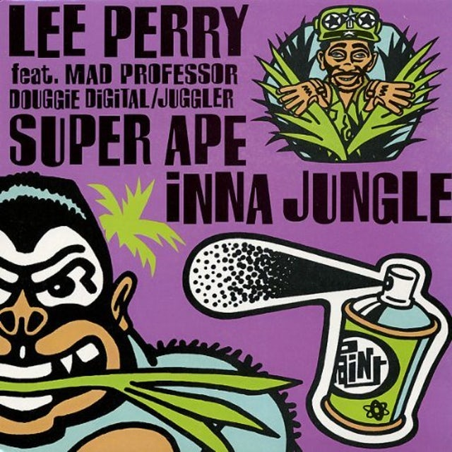 Lee Scratch Perry & Mad Professor SUPPER APE INNA JUNGLE Vinyl Record