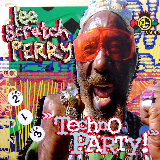 Lee Scratch Perry TECHNO PARTY Vinyl Record