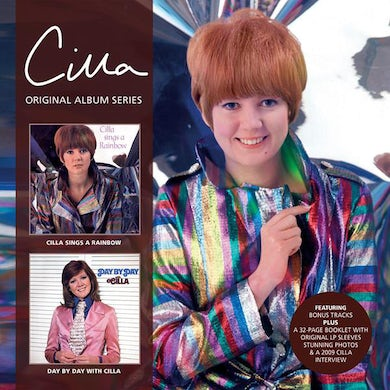 Cilla Black CILLA SINGS A RAINBOW / DAY BY DAY WITH CILLA CD