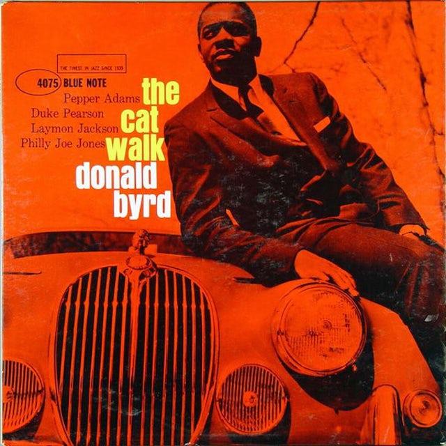 Donald Byrd CAT WALK Vinyl Record
