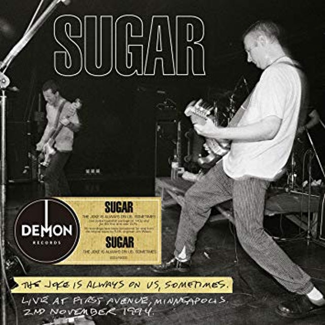 Sugar JOKE IS ALWAYS ON US Vinyl Record