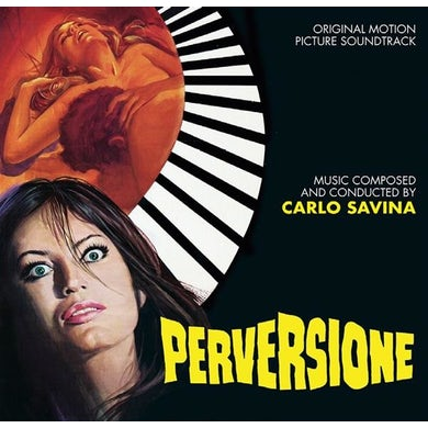 Carlo Savina PERVERSIONE / STRESS / Original Soundtrack CD