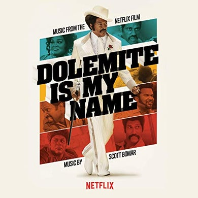 Scott Bomar DOLOMITE IS MY NAME (MUSIC FROM THE NETFLIX FILM) (PURPLE VINYL) Vinyl Record