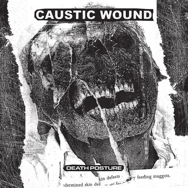 Caustic Wound DEATH POSTURE Vinyl Record