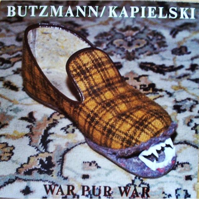 Butzmann / Kapielski WAR PUR WAR Vinyl Record
