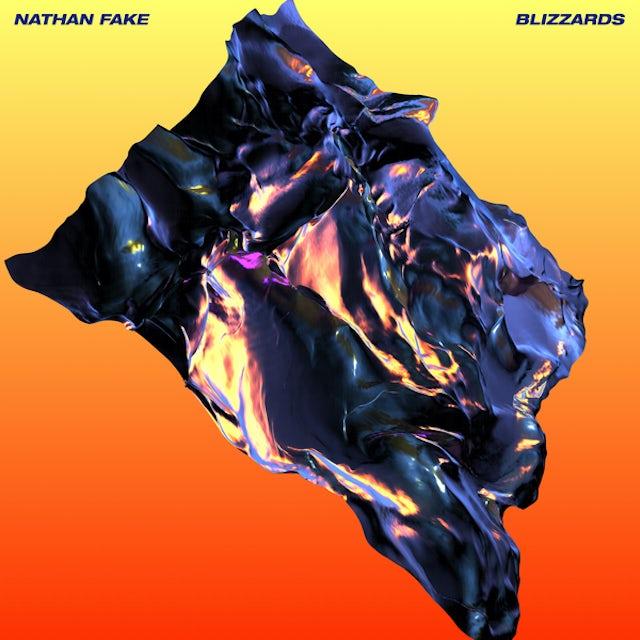 Nathan Fake BLIZZARDS Vinyl Record