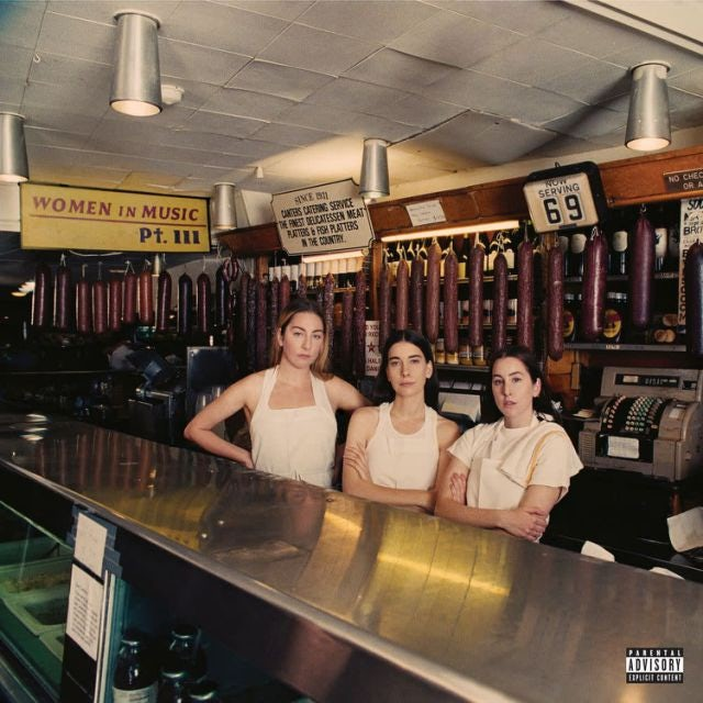 Haim WOMEN IN MUSIC PT III CD