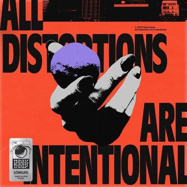 Neck Deep ALL DISTORTIONS ARE INTENTIONAL CD