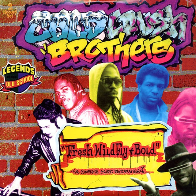 Cold Crush Brothers FRESH WILD FLY & BOLD (COMPLETE STUDIO RECORDINGS) Vinyl Record