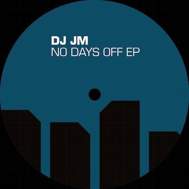 Dj Jm NO DAYS OFF Vinyl Record