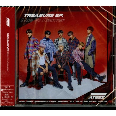 ATEEZ TREASURE EP (MAP TO ANSWER) (VERSION Z) CD