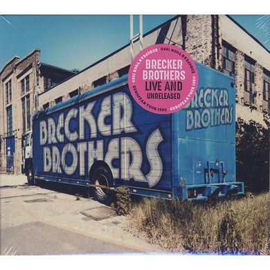 Brecker Brothers LIVE & UNRELEASED CD