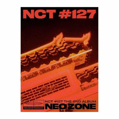 NCT 127 2ND ALBUM NEO ZONE (T VERSION) CD