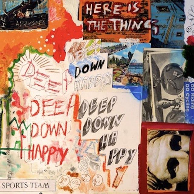 Sports Team DEEP DOWN HAPPY Vinyl Record