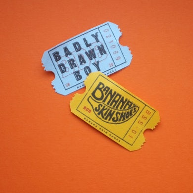 Badly Drawn Boy BANANA SKIN SHOES Vinyl Record