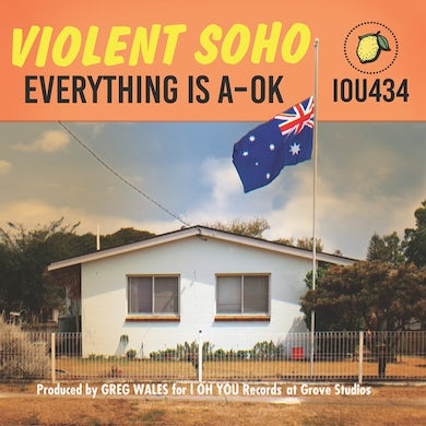 Violent Soho EVERYTHING IS A-OK CD