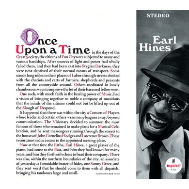 Earl Hines ONCE UPON A TIME CD