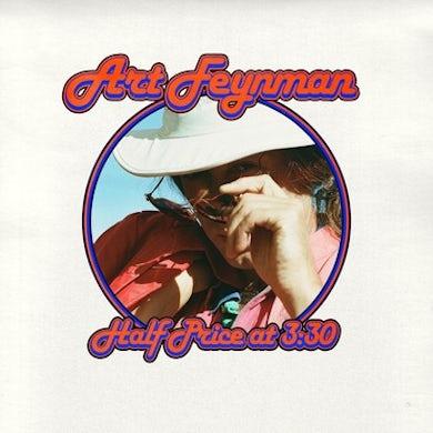 Art Feynman HALF PRICE AT 3:30 (RED VELVET VINYL) Vinyl Record