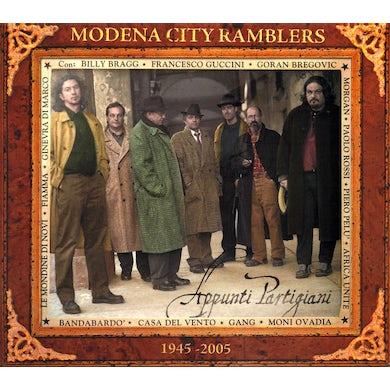 Modena City Ramblers APPUNTI PARTIGIANI CD