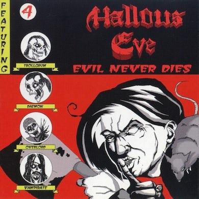 Hallows Eve EVIL NEVER DIES Vinyl Record